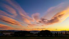 Amanecer en El Calafate (Jos M. Arboleda) Tags: patagonia santacruz argentina sunrise jose samsung amanecer lagoargentino elcalafate arboleda salidadelsol josmarboledac galaxys5 smg900m