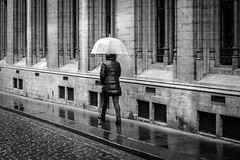Umbrella (marikoen) Tags: brussels blackandwhite belgium streetphotography