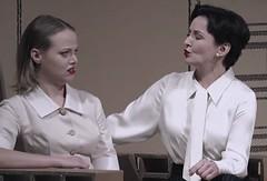 Lady /Housemaid (Meinhardis66) Tags: rock tie maid bluse krawatte dienstmdchen governess gouvernante schuluniform schleifenbluse zchtig hochgeschlossen properuniform