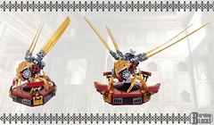 Clockwork Sinek (burningblocks) Tags: robot lego empire ottoman middle eastern mech steampunk moc