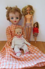 5. Flea Market Dolls (Foxy Belle) Tags: vintage doll market before dirty flea filthy tlc