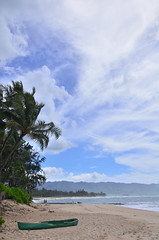 HWI_1146 (Ikuhito) Tags: ocean blue cloud beach hawaii oahu wave northshore