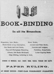 Book Binding (UH Manoa Library) Tags: news history vintage hawaii newspaper ad books historic advertisement historical microfilm dns digitization digitisation chroniclingamerica ndnp