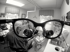 Whistle While You Work (AngelBeil) Tags: wednesday glasses dental doctor dentist headwear gopro