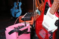 Red Love (shortscale) Tags: guitar jaguar vox squier hfner