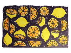 Lemons (abbey*christine) Tags: yellow fruit illustration sketchy sketch lemon pattern drawing sketchbook surfacedesign lemonade marker markers patterndesign