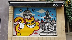 Mr Chat / Bruxelles - 22 apr 2016 (Ferdinand 'Ferre' Feys) Tags: brussels streetart graffiti belgium belgique belgi bruxelles urbanart graff brussel graffitiart mchat bxl artdelarue mrchat urbanarte