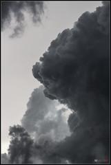 Mundos distantes (MarcosCousseau) Tags: blackandwhite white storm black blancoynegro blanco clouds negro bn nubes tormenta