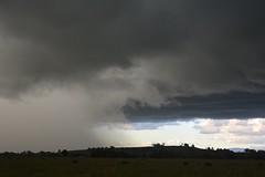 overtaken (dustaway) Tags: summer rain weather squall landscape australia nsw storms northernrivers richmondvalley australianweather