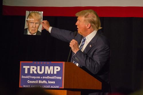 Donald Trump. .Ah me; gotta love me.., From FlickrPhotos