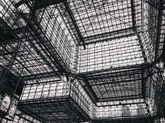 windows (peterjcb) Tags: new york city nyc windows bw white black monochrome center gr ricoh javits