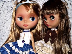 Blythe-a-Day December #31 Party: Roxanne & Dafina