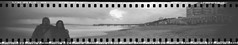 Pinhole Selfie (Attila Pasek) Tags: camera sunset selfportrait beach tin candy hard pinhole bournemouth selfie longexposuretime boscombepier