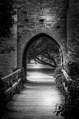 Gate to... (J. Pelz) Tags: bw canon gate mood sweden gotland blacknwhite visby townwall