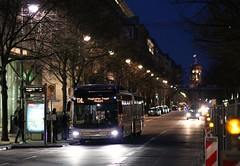 MAN Lions City S+U Unter den Linden (Hannes Eisenach) Tags: city man bus berlin canon fahrzeug txl bvg testbus lions 750d