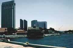 Seaport Village, San Diego (Carneddau) Tags: ca usa pier sandiego seaportvillage marriothotel frame08 film04802b