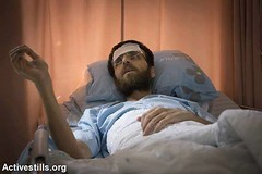 CALL FOR ACTION! 33-year-old journalist, Mohammed Al-Qeeq, is nearing death after sustaining a hunger strike of more than two months, in protest against his unlawful imprisonment. We are calling to all the international community to protest in front of Is (Palreports) Tags: israel palestine occupation