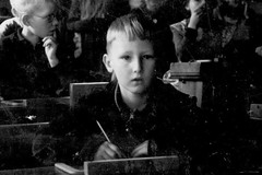 Paul bei Einschulung 1937 (TBT) (paulh.petersen) Tags: elements