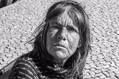 image (Don Jackson) Tags: street woman monochrome digital canon eos eyes sad homeless poor atmosphere social beggar wrinkles journalism documenteary