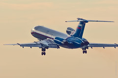 Tupolev Tu-154  RF-85135 (Alex Babashov) Tags: plane canon airplane russia aircraft air jet spot led planes saintpetersburg takeoff ulli spotting avia tupolev rus tu154 pulkovo tu154m t154 airjet tupolevtu154 tu5 planespot sotters rf85135