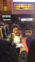 Kelly Holmes at the Premiere of Dad's Army at Odeon Leicester Square (Julie Ramsden) Tags: leicestersquare premiere odeon dadsarmy kellyholmes