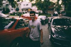 Driveway Hangs (focusfade) Tags: street city urban toronto film canon photography cntower grain streetphotography explore fullframe filmgrain lightroom 6d urbex lseries digitalfilm 6ix vsco lrthefader vscofilm createexplore creatorclass
