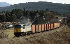 Grid on the Highland 2 (goremirebob) Tags: scotland trains coal railways carrbridge freighttrain class56 highlandline