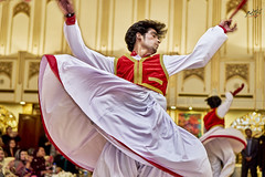 Lost in the passionate rhythm (Kamran ( Kami K )) Tags: boy red portrait music white man hair dance arms dancing action stage performance culture indoor dancer passion performer sway passionate swaying
