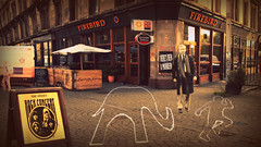 """Ethereal Glasgow: """"There's Been A Murdah"""", Mark Mcmanus (gerard.ferry) Tags: television 2000 sweet mark chief brian glenn scottish police jim been murder firebird kelly weeks chandler ned inspector strathclyde cid theres mcmanus detective programme maryhill the taggart emptyspaces connolly theresbeenamurder flickrfriday a finneston brianconnolly markmcmanus theresbeenamurdah"""