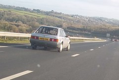 One Owner 1989 Ford Escort (occama) Tags: old uk ford car one 1 cornwall mark 4 1989 reg escort owner cornish h698erl