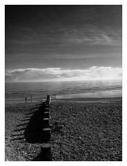 Beach (ric) Tags: bw beach playa bn eastbourne groyne jmp slfp imagemagick uploadscript im:opts=fx07r03glevel510008 imagedatanexus14761f25100 photo:id=250412216866f821767b7ojpg