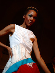 lovely (Ian Muttoo) Tags: toronto ontario canada fashion model gimp rom royalontariomuseum fridaynightlive ufraw chineduukabam fnlrom watercarrymego dsc53251edit