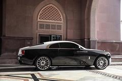 Wraith. (jansupercars) Tags: cars car uae rr rollsroyce automotive palace emirates spotted abu dhabi luxury wraith supercars blacklist carphotography 2016 carpictures autogespot