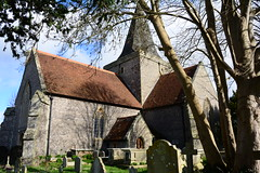 St Andrew's Church, Alfriston. (martin 123) Tags: church sussex eastsussex alfriston standrew