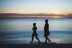/ anna maria island / (aubreyrose) Tags: travel sunset gulfofmexico silhouette florida 2015 holmesbeach annamariaisland