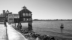 Selfies to the Left of Me, Fishing to the Right... (quicklyslowly) Tags: blackandwhite bw lines fishing san diego william leading edwin willis fineartphotography 16x10 28mmf2 sonya7r