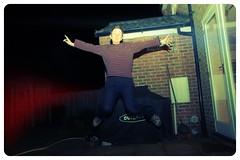 Jumping Outback ( EkkyP ) Tags: dark j jump jumping flash alphabet unflattering