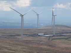 UU out of Scout Moor expansion (United Utilities) Tags: wind farm peel uu scoutmoor