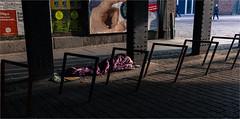 T (zilverbat.) Tags: world poverty urban berlin canon germany scenery image candid homeless poor citylife streetphotography streetlife streetscene viaduct bums ddr stm innercity 40mm bild global streetpeople tramps duitsland streetshot urbanlife winos berlijn hobos spoorbrug streetcandid socialdocumentaryphotography straatfotograaf zilverbat treinviaduct elvinhagekpnplanetnl spoorbrucke