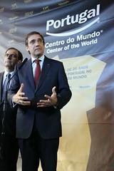 Pedro Passos Coelho no SISAB