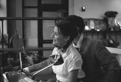 roman holiday 4 (bergytone) Tags: bw film analog vespa audreyhepburn kodak ilford fp4 1953 retina romanholiday gregorypeck frozenintime selfdeveloped 125asa grandhavenmi iiic exisitnglight ilfosol3