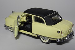 1950 Nash Rambler Custom Convertible (10) (dougie.d) Tags: usa scale car franklin model mint bathtub hudson nash rambler cabrio 1950 modelcar cabriolet pininfarina 143 diecast kelvinator landau franklinmint airflyte automodel modelauto