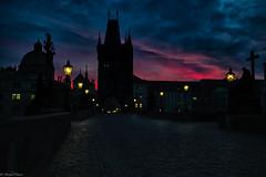 Colorful Sky #1 (michael.mu) Tags: leica morning sky color sunrise 35mm dawn czech prague praha charlesbridge karlvmost m240 colorefexpro leicasummicron35mmf20asph leicasummicronm1235mmasph