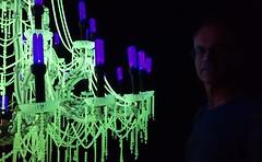 The Last Temptation- Ken + Julia Yonetani (Celeste33) Tags: green art artist purple contemporaryart nuclear australia chandelier uranium canberra kenjuliayonetani