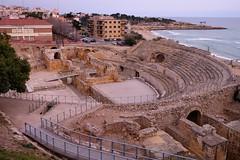 Amfiteatre rom / Tarragona (5) / Catalunya (Catalua-Catalonia) (Ull mgic) Tags: monument fuji unesco romano ruinas tarragona anfiteatro patrimoni rom amfiteatre runes xt1