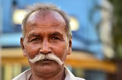 Selvi [Stranger # 05 / 100] (s) Tags: india 50mm 50mmf18d kolkata bengal tamil calcutta tamilnadu tamilian kalighat kalitemple selvi 100strangers nikond7000