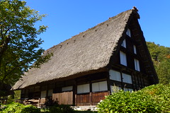 Shirakawa-go Heritage Museum, Japanese Alps (jorisz) Tags: travel autumn mountains alps nature japan japanese asia colours village kamikochi japanesealps ogimachi shirikawago gasshzukuri