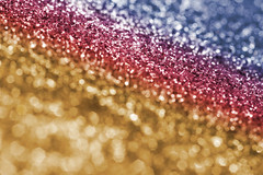 Sparkling Multi-Colored Glitter Background (Creativity103) Tags: blue red texture glitter festive gold spectrum decoration sparkle gradient