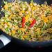 Gemüsepfanne Asiatisch mit Chili