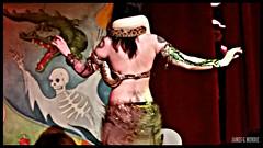 Charming serpents (James Mundie) Tags: festival neworleans convention snakes sideshow snakecharmer mundie copyrightprotected jamesmundie jamesgmundie profjasmundie jimmundie copyrightjamesgmundieallrightsreserved southernsideshowhootenanny